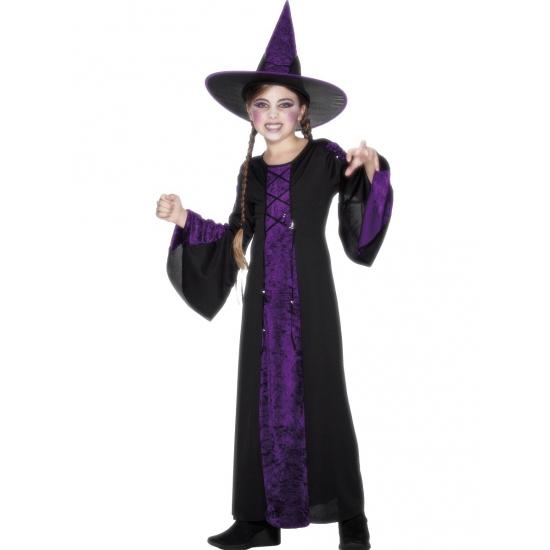 Halloween Verkleedkleding Kind.Verkleedkleding Heks Kinderen In De Carnavalskleding Winkel